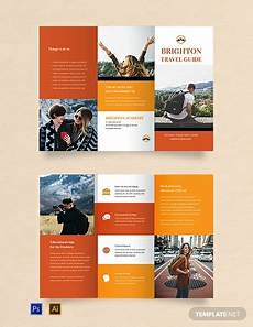 Travel Guide Brochure Template Free Travel Brochure Template For Students Word Doc