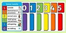 Voice Chart Voice Levels Wall Chart Voice Levels Wall Chart Different