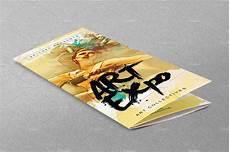 Art Gallery Brochure Design Art Show Expo Trifold Brochure Brochure Templates