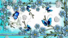 Cute Blue Images Cute Blue Butterfly Wallpaper Wallpaper Wallpaperlepi
