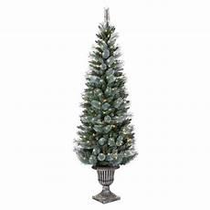 Martha Stewart Living Christmas Tree Lights Martha Stewart Living Arctic 6 5 Ft Pre Lit Christmas