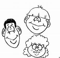 Ausmalbilder Gesichter Kostenlos Drei Gesichter 2 Ausmalbild Malvorlage Nordisch