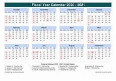 2020 Fiscal Year Calendar Printable 2020 Fiscal Calendar Calendar Template 2020