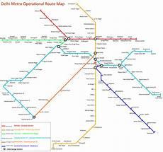 Delhi Metro Price Chart Delhi Metro Route Map