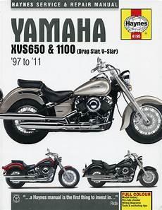 Yamaha Xvs 650 1100 Drag Star V Star Repair Manual 1997