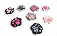 Big Paw Designs Donation Request Dog Paw Cat Paw Magnet Donation For Animals Pixel Art 8 Bit