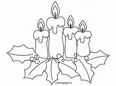 coloring page advent candles coloring page