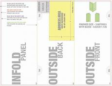 Trifold Mailer Template Welcome To Trade 4over Com
