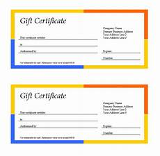 Ms Word Gift Certificate Template 11 Free Gift Certificate Templates Word Templates For