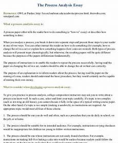 Process Analysis Essay Topics Free 10 Sample Analysis Essay Templates In Ms Word Pdf