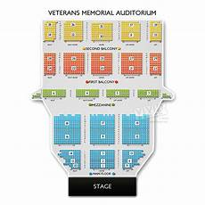 Veterans Memorial Seating Chart Veterans Memorial Auditorium Ri Tickets Veterans