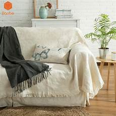Throws And Blankets For Sofa 3d Image by Solid 100 Cotton Sofa Towel Blanket Sofa Cover Line