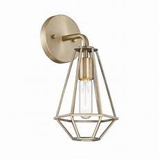 Cordelia Lighting Cordelia Lighting 1 Light Old Satin Brass Wall Sconce