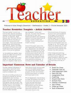 Examples Of Newsletters For Parents From Teachers Free 20 Fantastic Printable Newsletter Templates In Pdf