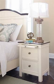 woodanville white brown two drawer stand b623