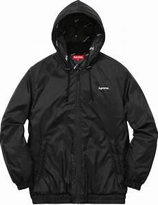 supreme jacket supreme 2 tone hooded sideline jacket supreme ny