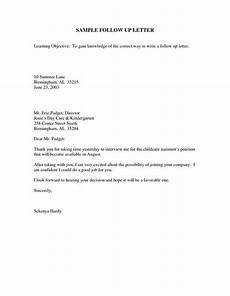 Thank You Letter After Sending Resume Sample Follow Up Email After Interview Letter After