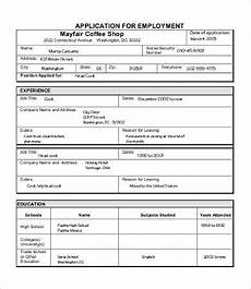 Sample Applications Sample Job Application 7 Free Word Pdf Documents