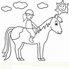 Malvorlagen Mit Pferd Hairstyles Ausmalbilder Pferd