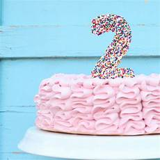 do it yourself homemade sprinkle cake topper cake ideas