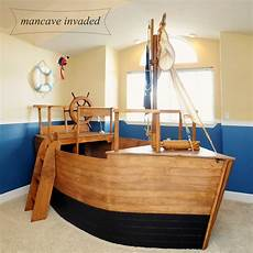 boat bed years later mancave invaded