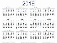 Vertex42 Calendar 2019 Printable Calendar Templates Online
