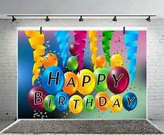 Colorful Happy Birthday Banner Happy Birthday Banner 7x5ft Photography Backgrounds