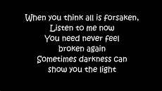 Stand In The Light Lyrics Disturbed The Light Lyrics Youtube