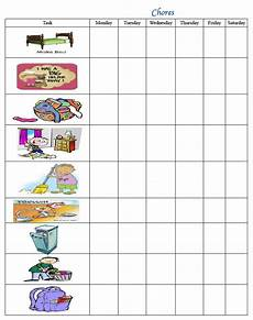 5 Year Old Chore Chart Printable Top Printable Chore Chart For 5 Year Old Leslie Website