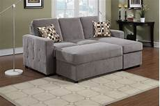 ac pacific modern small charcoal sectional sofa chaise
