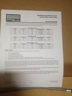 Edelbrock 1405 Jet Chart Edelbrock 70060 Performer Rpm Nitrous Plate Kit For