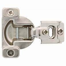 liberty 35 mm 105 degree 1 2 in overlay cabinet hinge 1