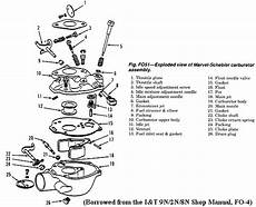 Exploded Carb Ford Tractor Pinterest Ford Tractors