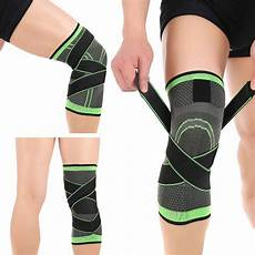 knee sleeve for running 3d weaving knee brace pad support protect compression