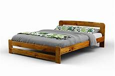 new king size solid wooden bedframe quot f1 quot with slats 5ft