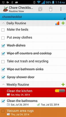 Chore Checklist App Chore Checklist Android Apps On Google Play