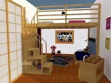 letto soppalco progetti 3d di soluzioni con letto a soppalco di cinius