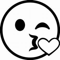 ausmalbilder emoji kuss 39845732475 desenho de emoji