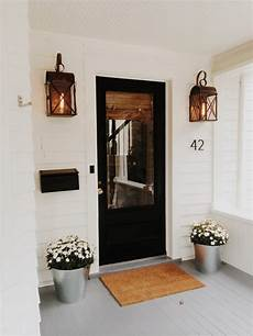 Modern Farmhouse Porch Light Front Door Flower Pots That Will Mesmerize Everyone