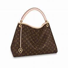 artsy mm monogram in brown handbags m44869 louis vuitton