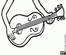 ausmalbilder ukulele zum ausdrucken