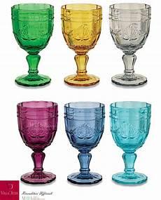 bicchieri colorati bicchieri colorati syrah villa d este