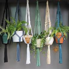 macrame plant hanger macram 233 plant hangers in assorted neutral colours