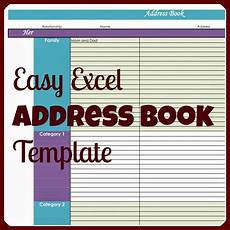 Phone Book Template S Plans Easy Excel Address Book Template