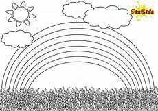 Ausmalbilder Zum Ausdrucken Regenbogen Ausmalbild Regenbogen Kostenlose Malvorlage