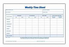 Employee Time Sheets Template 8 Best Images Of Blank Printable Timesheets Free