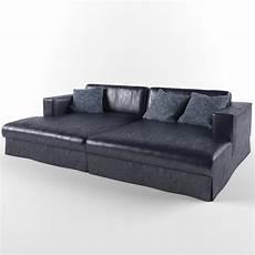 Blue Sofa Set 3d Image by 3d Model Modern Blue Sofa Cgtrader