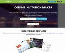 Free E Invitation Maker Top Best 11 Online Invitation Makers Tools To Make Your