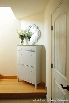m dorsey designs ikea hemnes shoe cabinet renovation