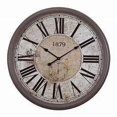 home decor clocks yosemite home decor 31 5 in x 31 5 in circular mdf wall